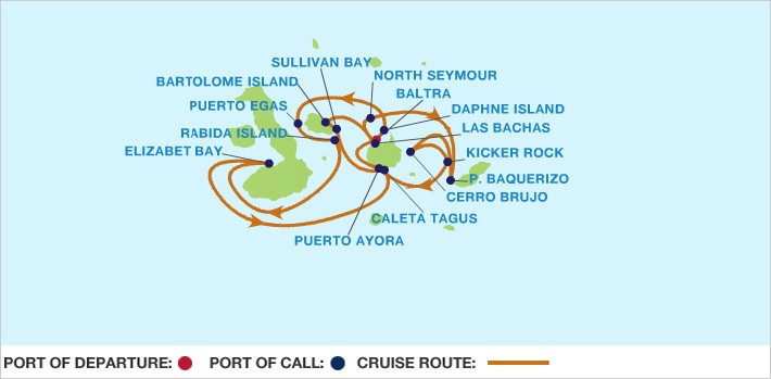 CRUCERO ISLAS GALAPAGOS Celebrity Xpedition