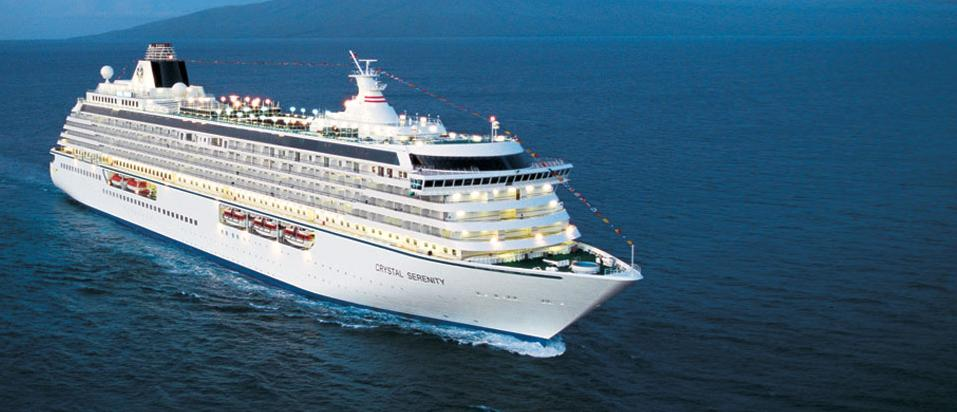 CRYSTAL CRUISES CRUCEROS DE LUJO LUXURY CRUISE DEALS OFERTAS DESCUENTOS CRYSTAL SERENITY