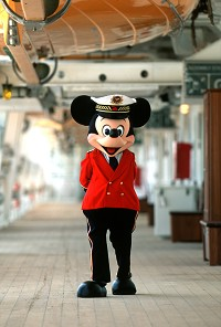 CRUCEROS DISNEY CAPITAN MICKEY