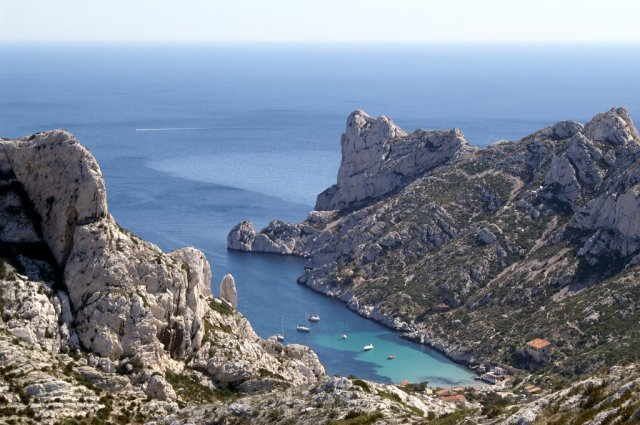 La bella costa de Marsella (Les Calanques)
