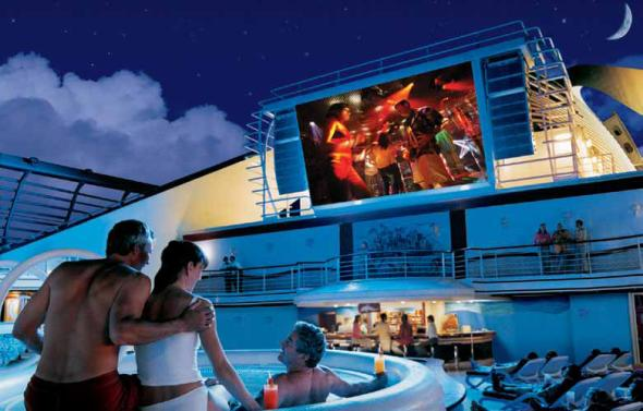 CRUCEROS PRINCESS MOVIES UNDER THE STARS PRINCESS CRUISES