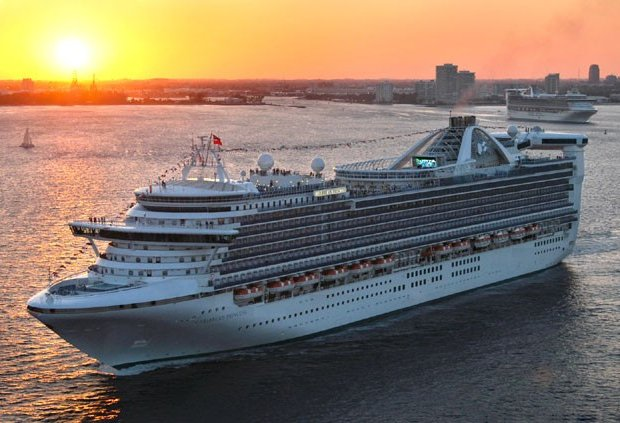 CARIBBEAN PRINCESS SUNSET CRUISES