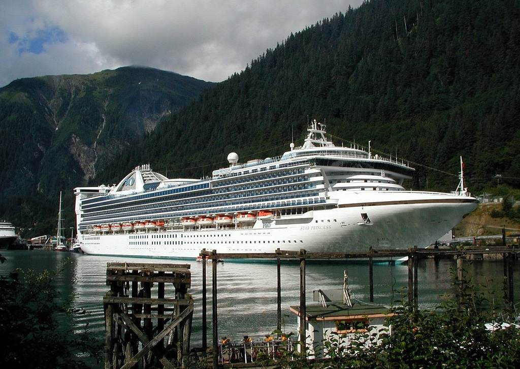 CRUCEROS ALASKA PRINCESS STAR PRINCESS CRUCEROS PACIFICO ALASKA CRUISES PRINCESS CRUISES