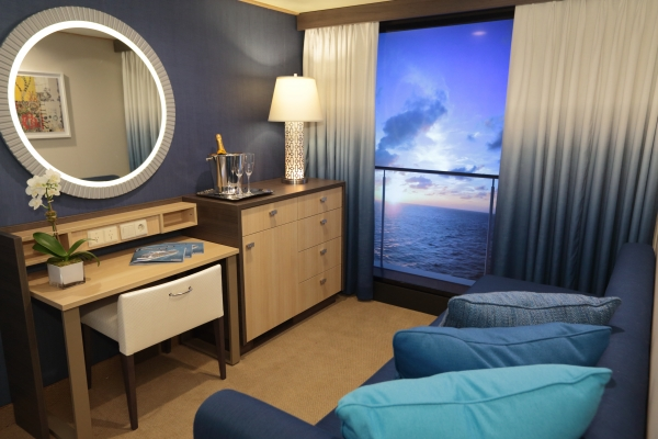 CRUCEROS QUANTUM OF THE SEAS ROYAL CARIBBEAN CRUCEROS CARIBE OFERTA DESDE NUEVA YORK NEW YORK CARIBBEAN CRUISES ROYAL CARIBBEAN BALCON VIRTUAL CABINA INTERIOR
